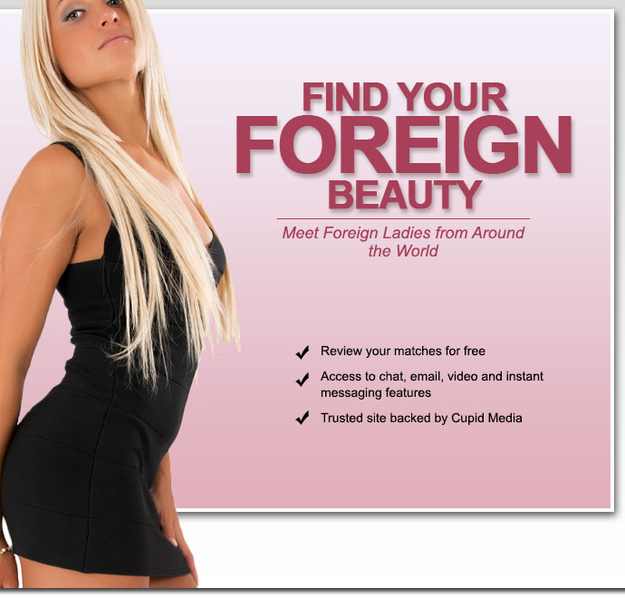 Foreign dating, personals and singles